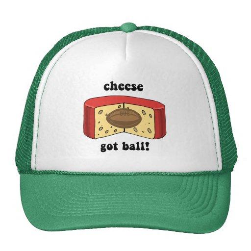 cheese got ball mesh hats