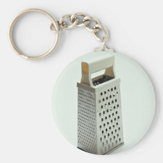 Cheese grater for Kitchen Basic Round Button Key Ring