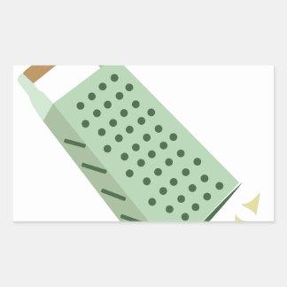 Cheese Grater Rectangular Sticker