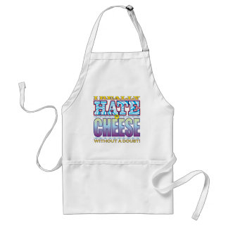Cheese Hate Face Standard Apron