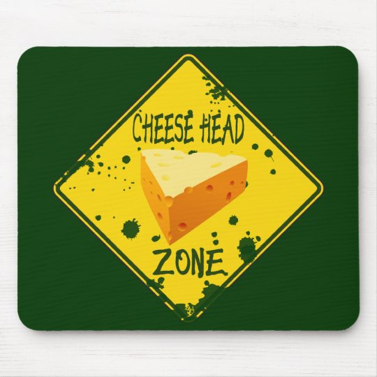 Cheese Head Zone Mouse Mat