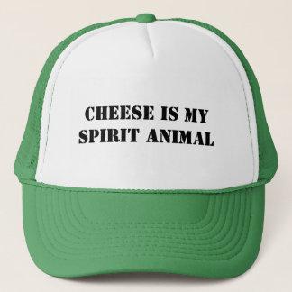 Cheese is my Spirit Animal Trucker Hat