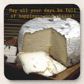 Cheese it up! Fun Cheese Gift for cheese lovers Coasters