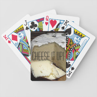 Cheese it up! Fun Cheese Gift for cheese lovers Deck Of Cards