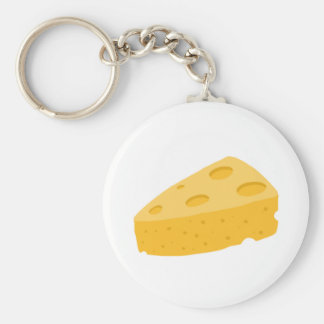 Cheese Key Ring