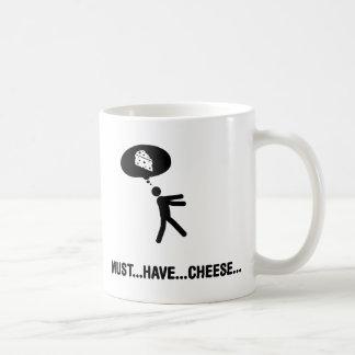 Cheese Lover Basic White Mug