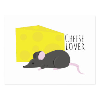 Cheese Lover Postcard