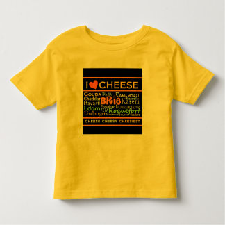 Cheese Lovers Toddler T-Shirt