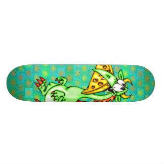 Cheese Loving Dragon Skate Board Deck