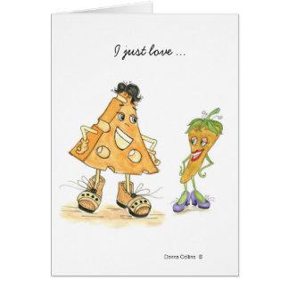 Cheese & Pepper Love Card