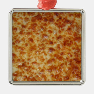 Cheese Pizza Christmas Ornament