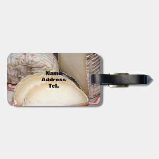 Cheese Platter - Soft  Cheese for Cheese lovers Bag Tags