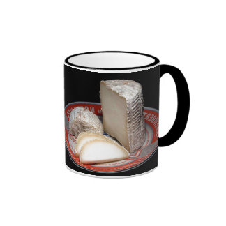 Cheese Platter - Soft  Cheese for Cheese lovers Ringer Mug