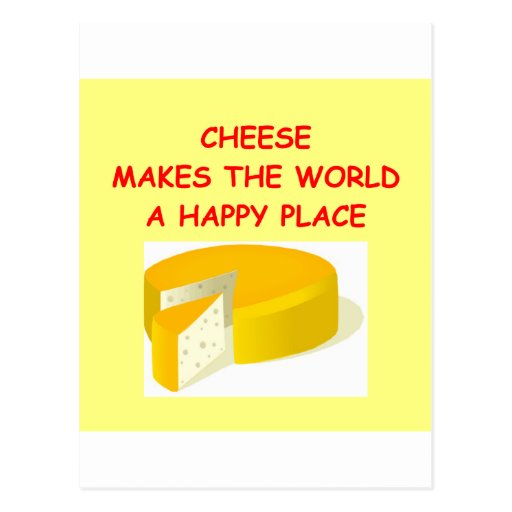cheese post card