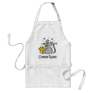 Cheese Rules apron
