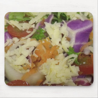 Cheese Salad Mouse Pad