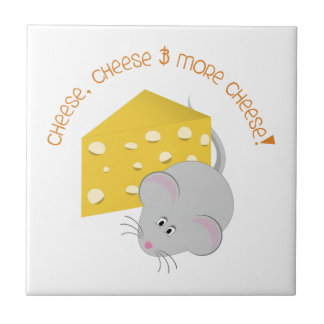Cheese Small Square Tile