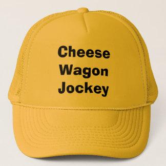 Cheese Wagon Jockey Trucker Hat