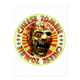 Cheese Zombie Postcard
