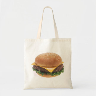 Cheeseburger Canvas Bags
