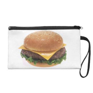 Cheeseburger Wristlet Clutches