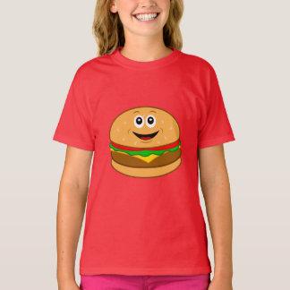 Cheeseburger Cartoon T-Shirt