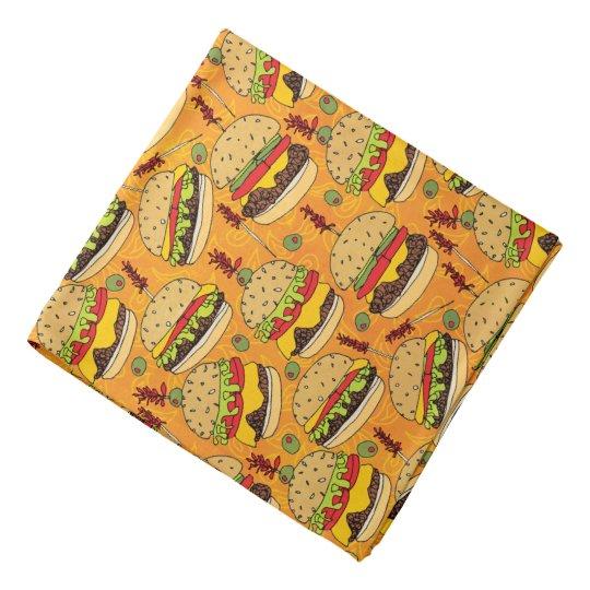 Cheeseburger Deluxe Head Kerchief