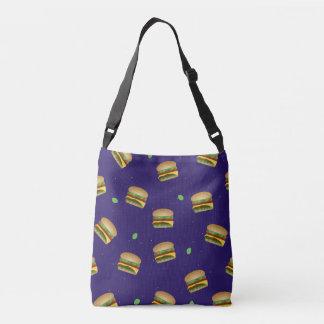 Cheeseburger Dreams Messenger Tote Tote Bag