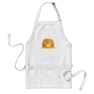 Cheeseburger Funny Grilling Apron for Men or Women