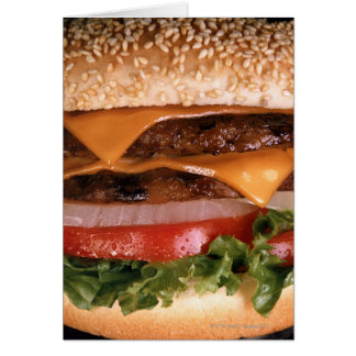 Cheeseburger Greeting Card