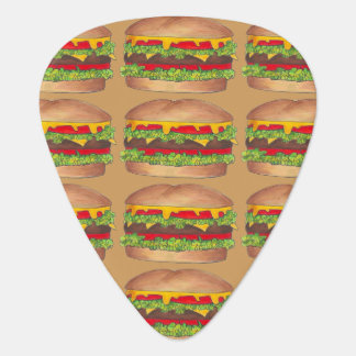 Cheeseburger Hamburger Fast Food Burger Foodie Plectrum