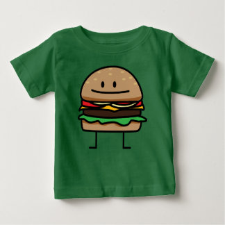 Cheeseburger Hamburger ground meat Beef cheese bun Baby T-Shirt