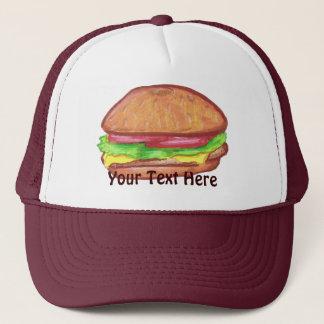 Cheeseburger Hat