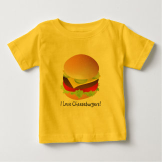 cheeseburger, I Love Cheeseburgers! Baby T-Shirt