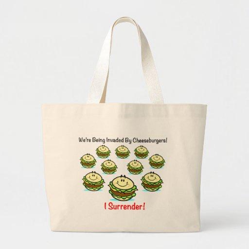 Cheeseburger Invasion Bag