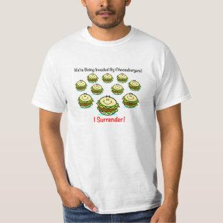 Cheeseburger Invasion Mens Shirt