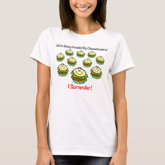 Cheeseburger Invasion Women's Shirt