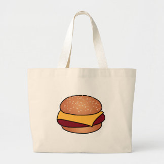 CheeseBurger Jumbo Tote Bag