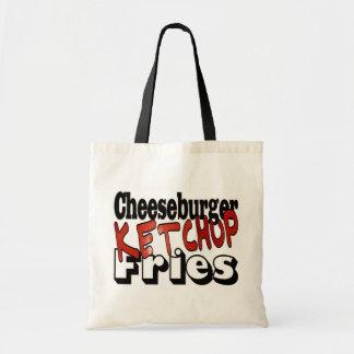 Cheeseburger Ketchup Fries Bags