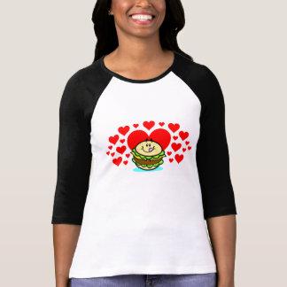 Cheeseburger Love! Ladies Shirt