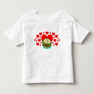 Cheeseburger Love! Toddlers Shirt