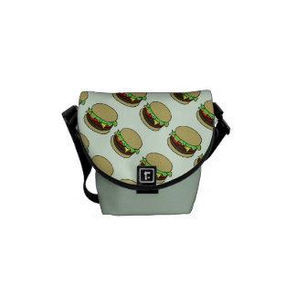Cheeseburger Messenger Bag