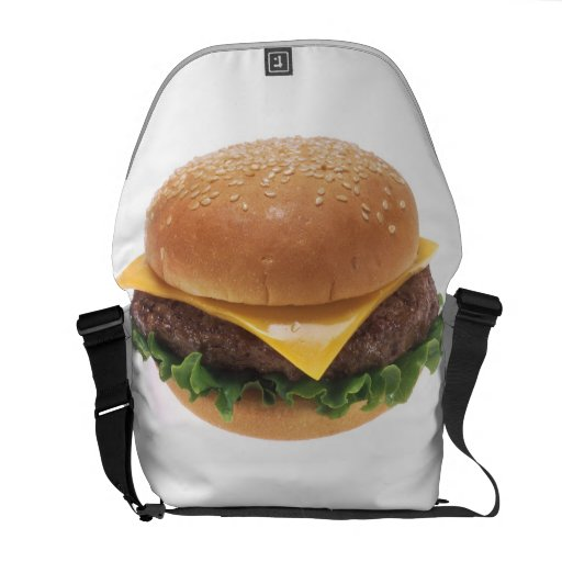 Cheeseburger Courier Bags