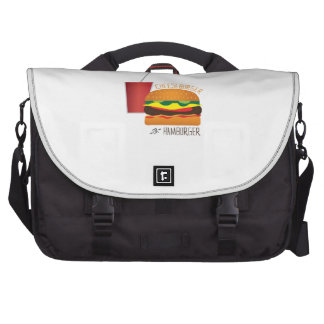 Cheeseburger or Hamburger Laptop Bags