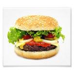 Cheeseburger Photo Print