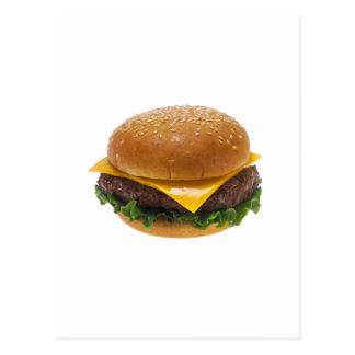 Cheeseburger Postcard