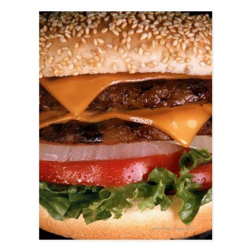 Cheeseburger Post Cards