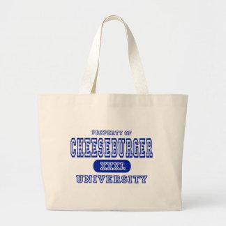 Cheeseburger University Bag