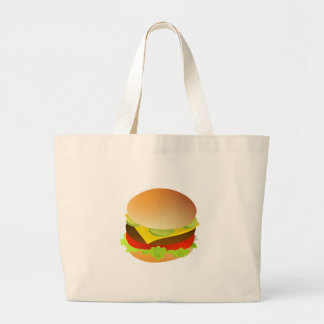 Cheeseburger with Lettuce, Tomato, and Pickles Bag