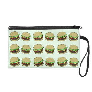Cheeseburger Wristlet Purses